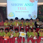 Show And Tell Activity by Playgroup Morning Section at Witty World, Chikoowadi(2018-19)