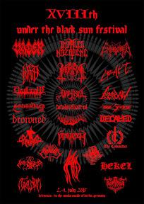 Under The Black Sun Festival 2015