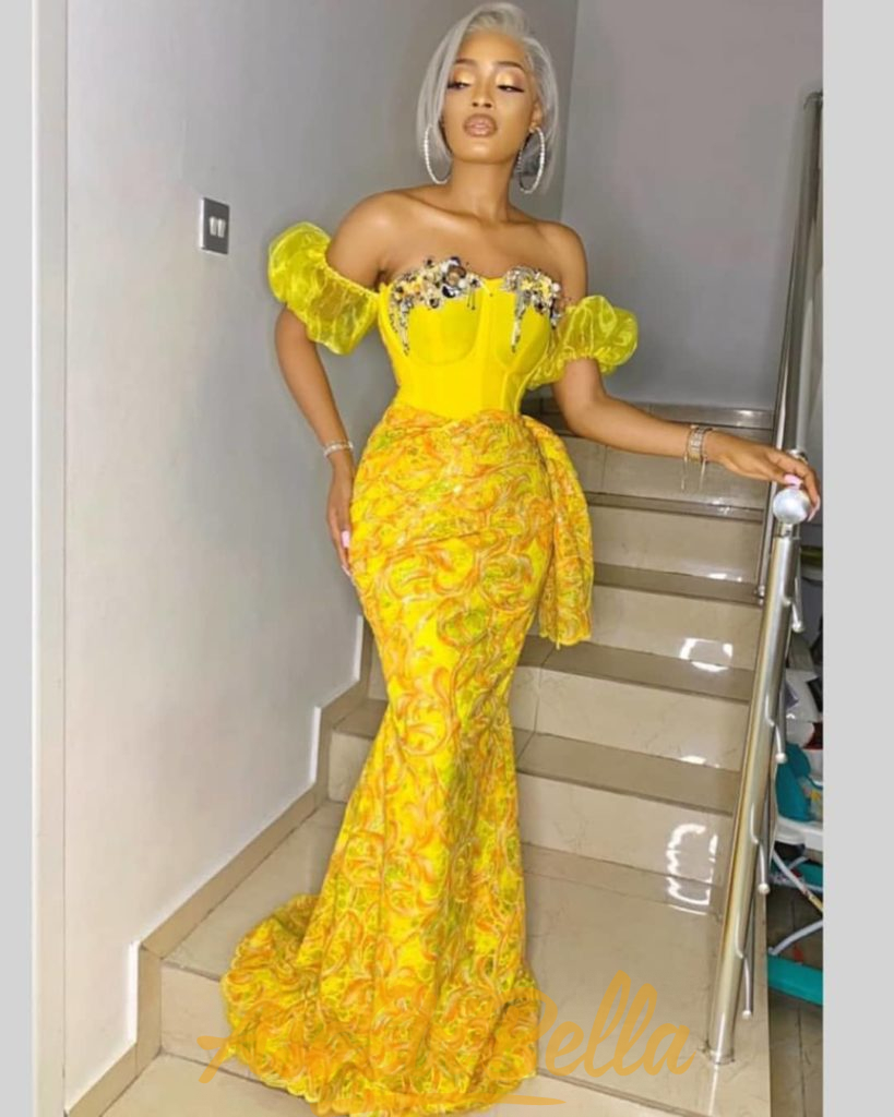 93 Edition Of #Ebfablook - 16 Chic and classy Aso-Ebi Outfits And Styles For Regal Women 2021