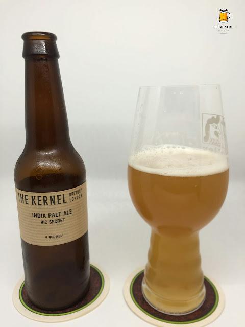 beer The Kernel India Pale Ale Vic Secret cervezame