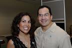 Dr. Nina Rios-Doria and Dr. Rob Lagon