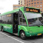 Optare Solo van Syntus bus 5353 met lijn 103 naar Nunspeet via Putten