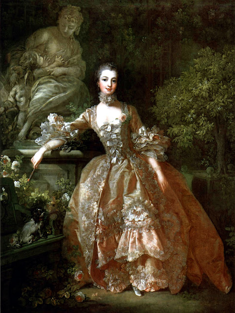 Francois Boucher - Portrait of Madame de Pompadour
