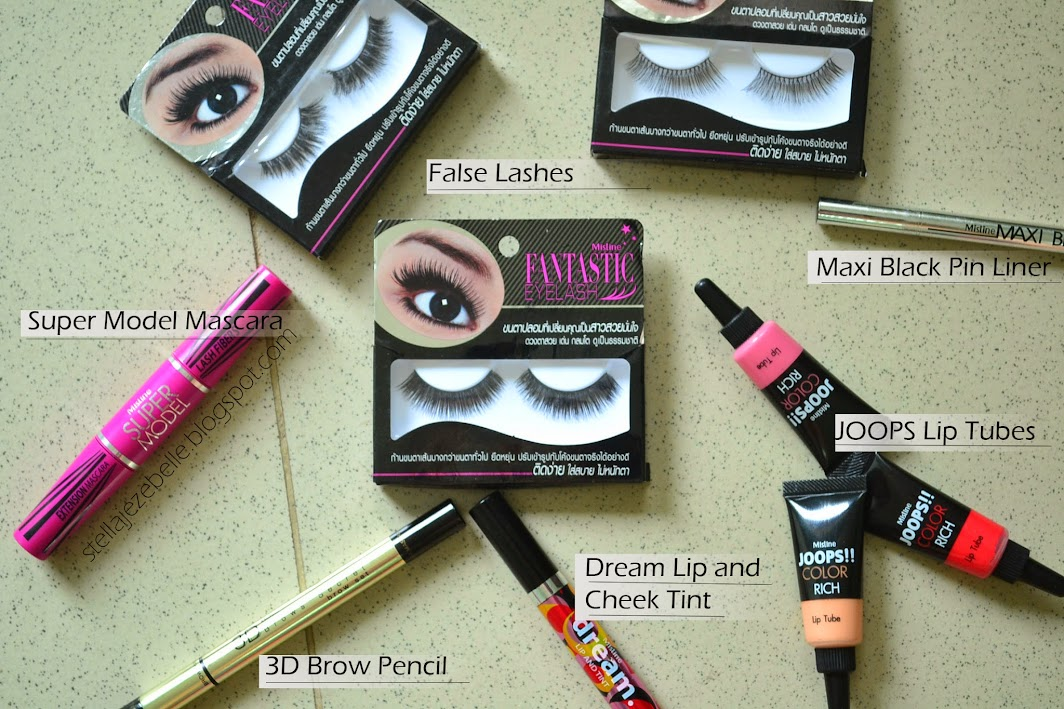 mistine, makeup, cosmetics, thailand,  fiber lash, joops, mascara, lip and cheek tint, brow pencil, 3d brows, makeup artist, bbloger, beauty blogger, filipina blogger, false lashes, eye liner, waterproof eyeliner