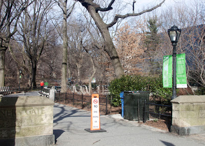 Miner's gate entrance to Central Park at 79th and 5th