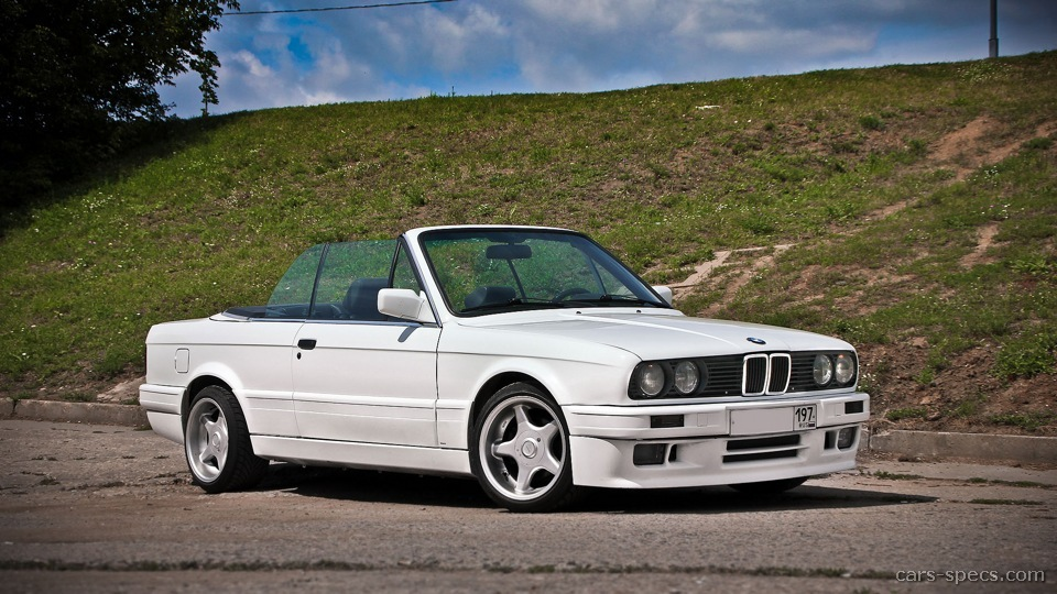 1990 bmw 3 series convertible specifications pictures prices. Black Bedroom Furniture Sets. Home Design Ideas