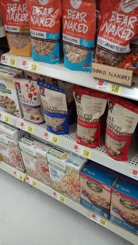 granola at Walmart
