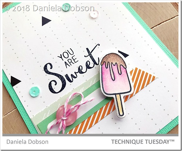 You are sweet close by Daniela Dobson