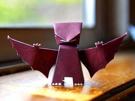 Kaiju Paper Toy Gyaos