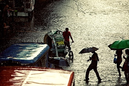 Rain in Manila