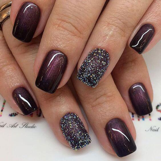 How you do your nails reflects your unique personality. Your nails also  have to compliment your outfit as you display your sense of style to the  world. - 25 Gorgeous Nail Designs For Every Party This Season - Nails C