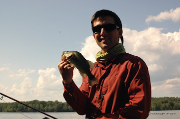 Nick Swingle and his Pohick Bay Largemouth