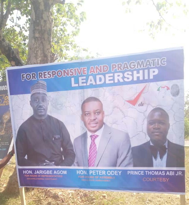 Prince Thomas Abi declares support for Hon  Jarigbe Agom and Hon Peter Odey