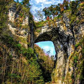 Natural Bridge by Dave Walters - Landscapes Caves & Formations ( parks, natural bridge, nature, virginia, travel, colors )