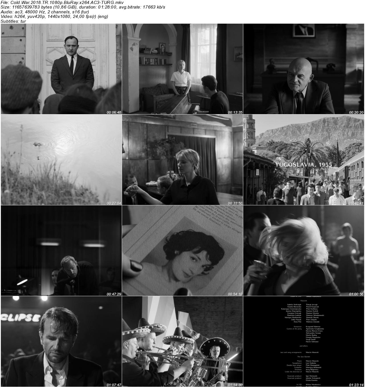 Soğuk Savaş 2018 - 1080p 720p 480p - Türkçe Dublaj Tek Link indir