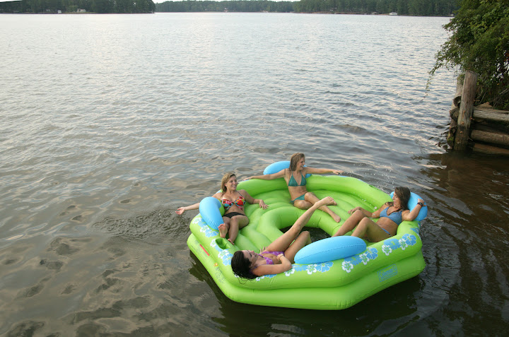 Lake Sinclair  raft.JPG