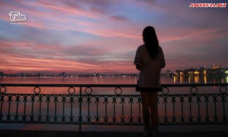 20 hình ảnh đẹp Hồ tây vào buổi chiều