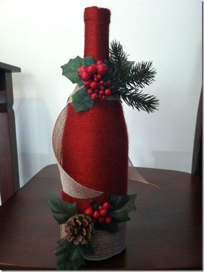 decorar botellas navidad todonavidad info (8)
