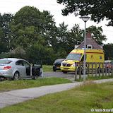 Ongeval Zuiderveen 30 juni 2016 - Foto's Teunis Streunding
