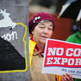 People's Hearing - youth voices - against coal export, Portland