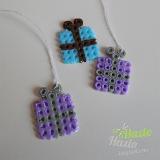 Cómo hacer regalos con hama beads.