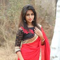 Deekshit Parvathi Red Saree Spicy Photos