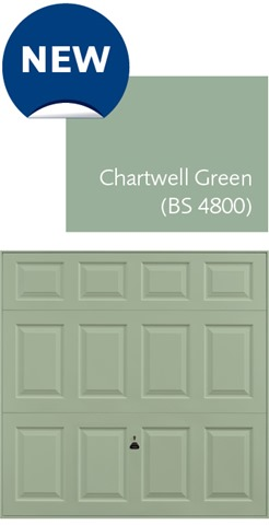 New Chartwell Green (BS 4800) Colour from Garador