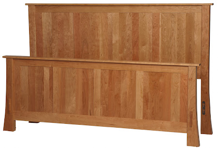 Seville Bed Frame in Natural Cherry