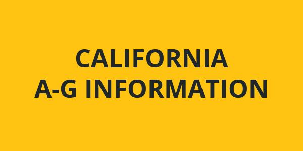 California A-G Info