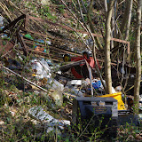 Bû (28) et ses décharges sauvages. 25 mars 2012. Photo : J.-M. Gayman
