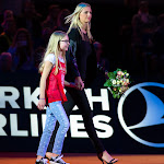 STUTTGART, GERMANY - APRIL 18 : Petra Kvitova at the 2016 Porsche Tennis Grand Prix players introduction