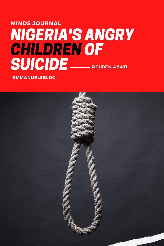 Nigeria's Angry Children of Suicide - Reuben Abati