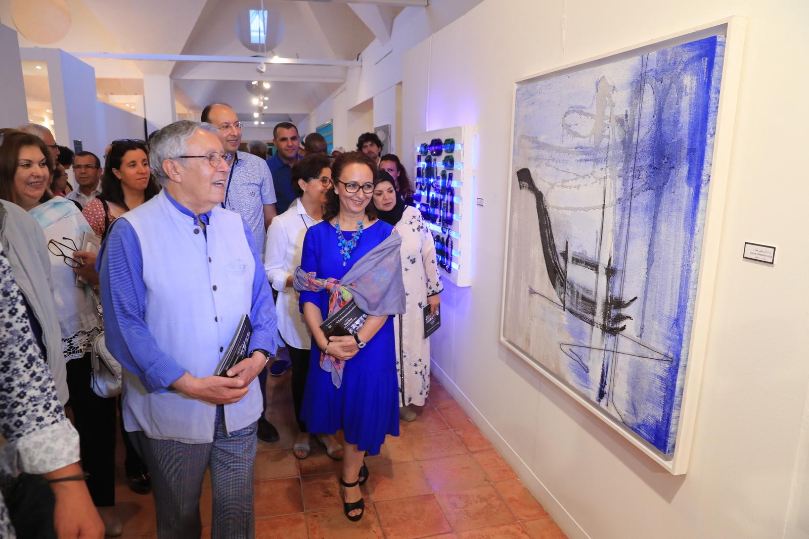2017-07-08 افتتاح المعرض الجماعي للابداع في كافة المجالات