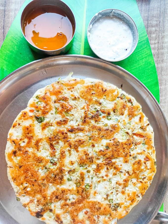 Vegetable Uttapam Recipe | Breakfast Care