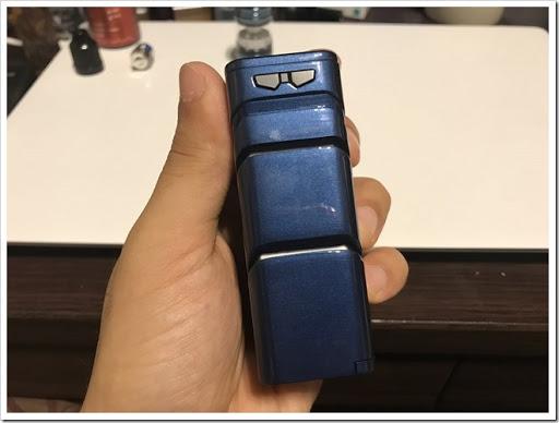 IMG 4373 thumb - 【ロボアニメファン必見】SMOK T-PRIV Kit(スモック・ティープリブキット)レビュー!スターターキットと言いつつ優秀なMODと味の出る爆煙クリアロがセットになった最強セット!初心者にいきなりデュアルバッテリーは扱えるのかな?【MOD/スターターキット/クラウドチェイサー】