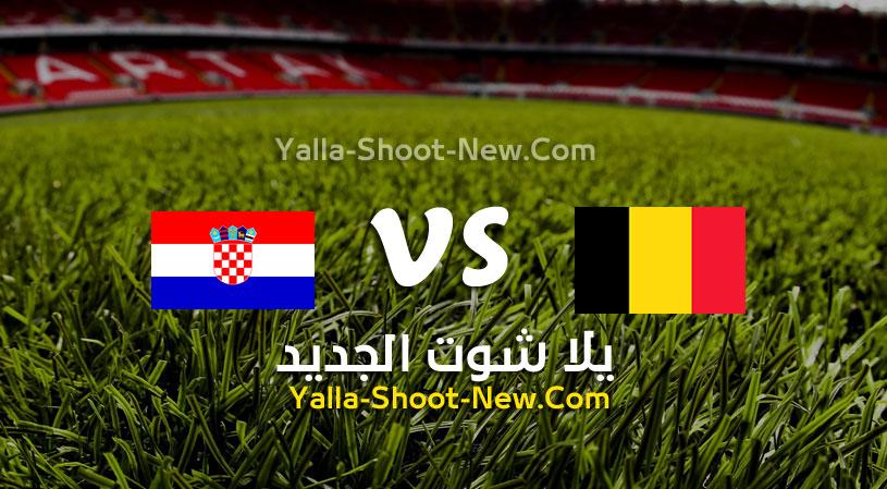 مباراة بلجيكا وكرواتيا
