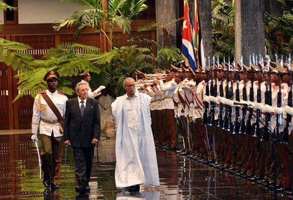 El Frente Polisario agradece a Raúl Castro el apoyo y solidaridad mostrados por Cuba hacia la lucha del pueblo saharaui.