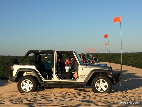 Completely undressed for the dunes