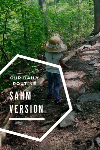 Our Daily Routine SAHM Version The Daily April N Ava