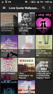 Love Quotes Wallpapers - náhled