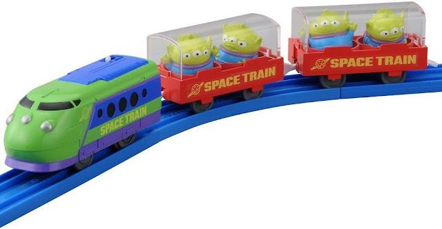 Đồ chơi Tàu hỏa hình Alien Space Disney Pixar Dream Railway