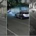 GUARDA MUNICIPAL ATROPELA MOTO DE ASSALTANTES PARA IMPEDIR CRIME; VÍDEO DO MOMENTO