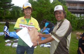 年間9位 片岡秀幸プロ 表彰1