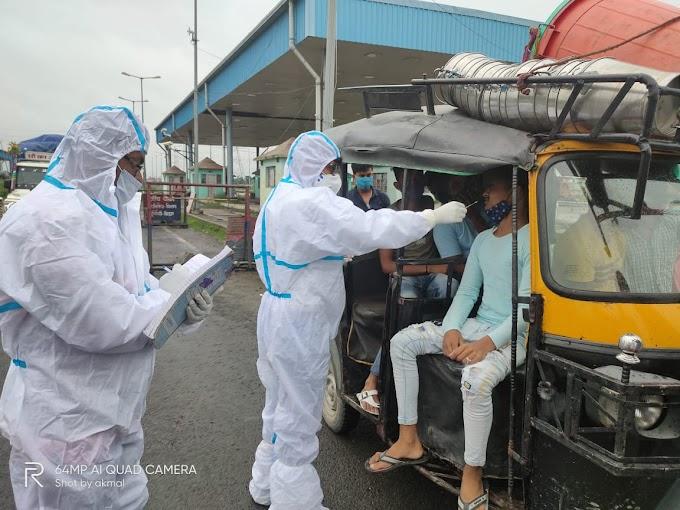 पूर्वी चम्पारण जिले मे कोरोना संक्रमित मरीजों की संख्या में आई कमी