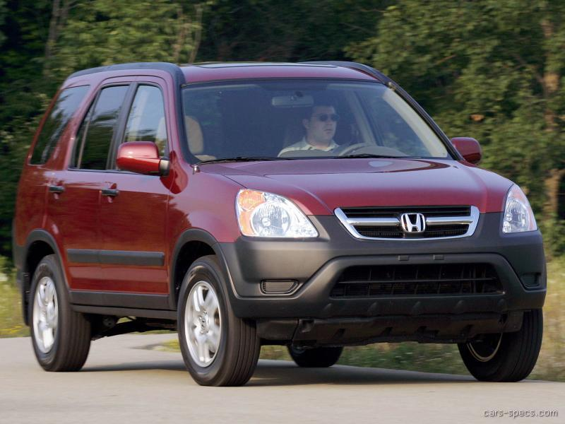 2003 Honda CR-V SUV Specifications, Pictures, Prices