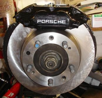 944 turbo disc brake conversion
