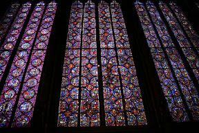 Ste. Chapelle upper chapel stained glass