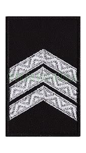 Погон Поліція Сержант липучка