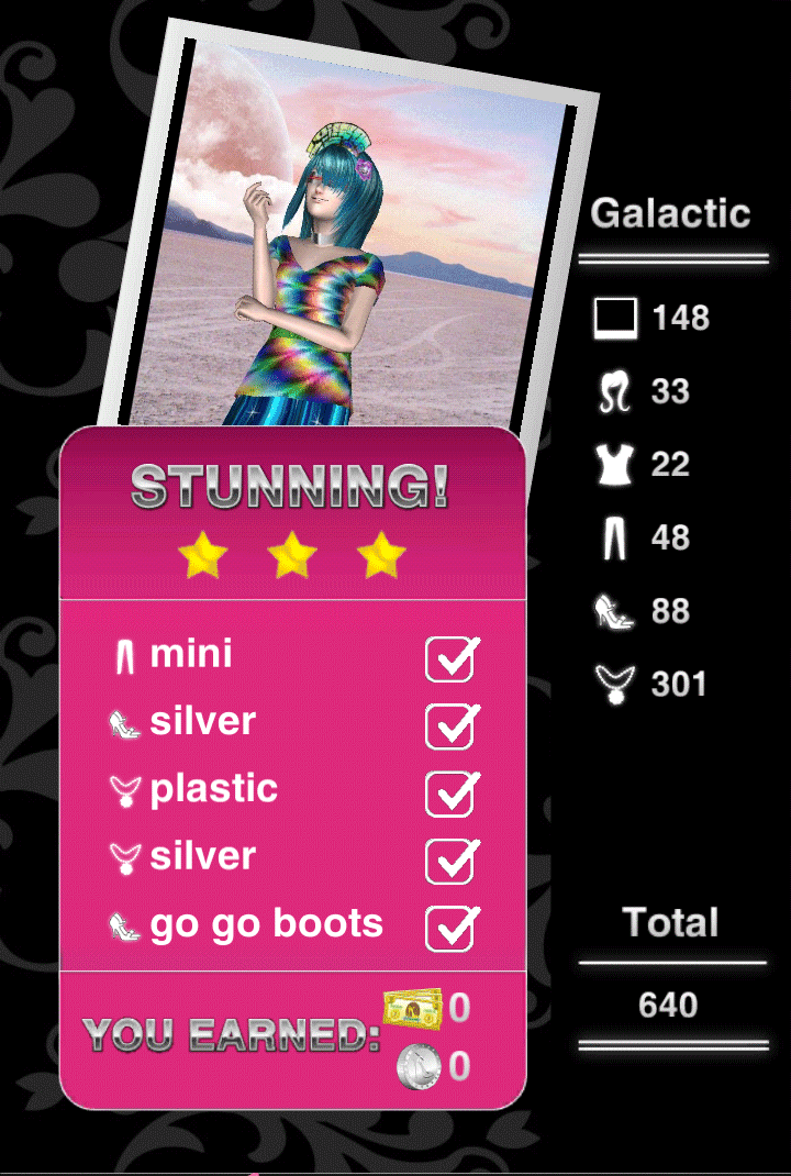 How To Get 3 Stars On Galactic Level 14 Style Me Girl Without Any Cash I Style Me Girl