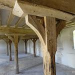 Château de Malesherbes : grange aux dîmes, rez-de-chaussée